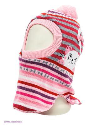 Шапка Maxval. Цвет: розовый, фиолетовый, бледно-розовый