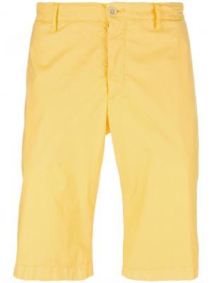 Шорты чинос Etro. Цвет: жёлтый и оранжевый