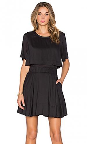 Платье felly IRO. Цвет: черный