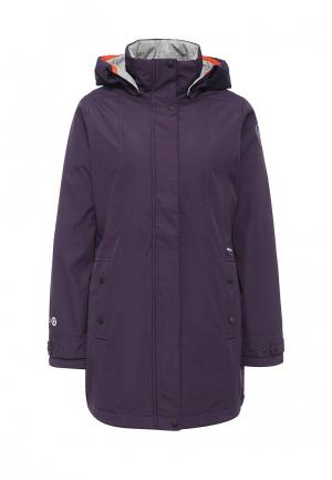 Куртка утепленная Torstai. Цвет: фиолетовый