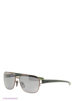 Солнцезащитные очки RH 749 02 Zerorh. Цвет: темно-серый, зеленый