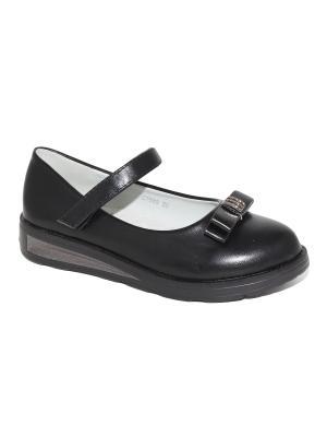 Туфли Капитошка.. Цвет: черный