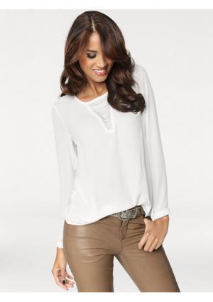 Блузка PATRIZIA DINI. Цвет: белый, розовый, черный
