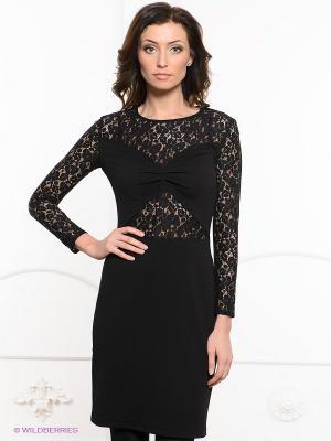 Платье Festival. Цвет: черный
