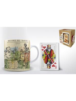 Подарочный набор BASSANO DEL GRAPPA Magic Home. Цвет: бежевый