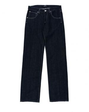 Джинсовые брюки FERRARI. Цвет: синий