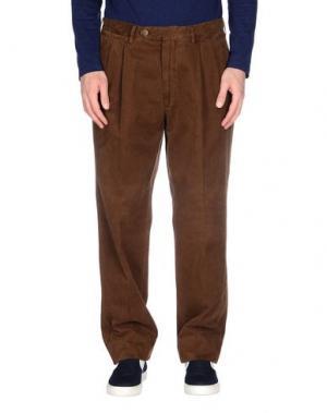 Повседневные брюки ROTASPORT. Цвет: коричневый