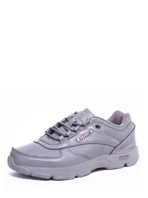 Кроссовки EDITEX. Цвет: серый