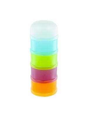Контейнеры Suavinex. Цвет: зеленый, темно-фиолетовый, салатовый