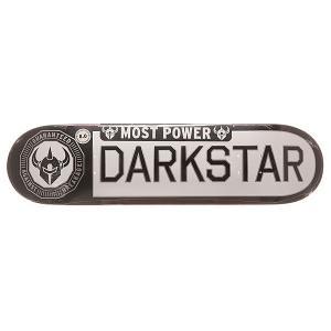 Дека для скейтборда  S6 Rhm Timeworks White/Black 31.6 x 8 (20.3 см) Darkstar. Цвет: черный,белый