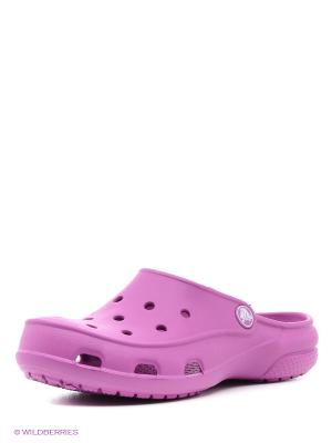 Сабо CrocsFreeslClg CROCS. Цвет: фиолетовый