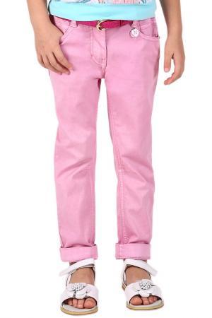 Брюки Gulliver. Цвет: розовый