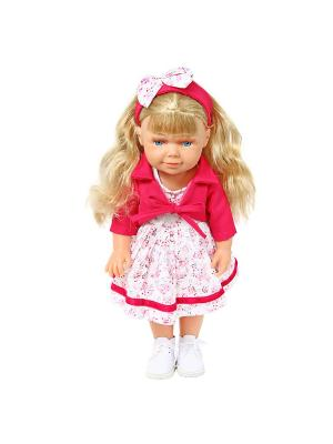 Кукла  Арина 37см. Lisa Jane. Цвет: красный, белый, розовый