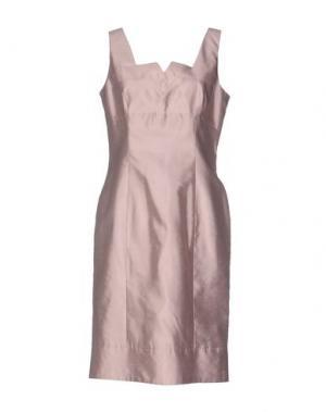 Платье до колена NINA New York. Цвет: розовый