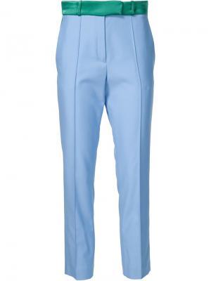 Укороченные брюки Palm beach Racil. Цвет: синий