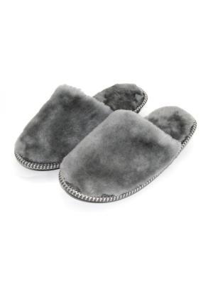 Тапочки Тефия. Цвет: серый