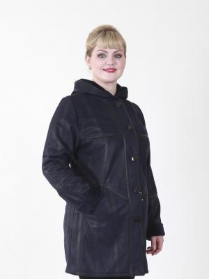 Пальто Розали VIKO. Цвет: синий