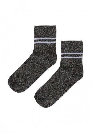 Носки Topshop. Цвет: серый