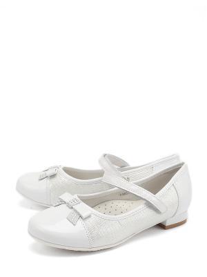 Туфли BI&KI. Цвет: белый