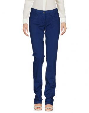 Повседневные брюки HEAVEN TWO. Цвет: синий