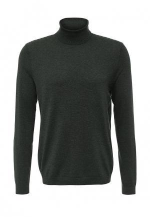 Водолазка Burton Menswear London. Цвет: зеленый