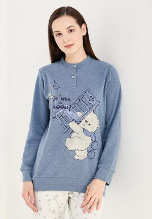 Рубашка домашняя Perfect J. Цвет: голубой
