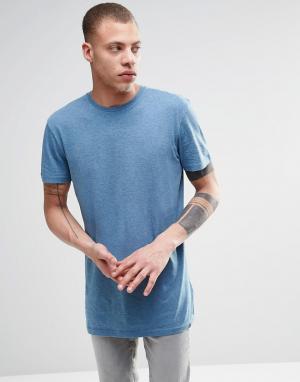 ADPT Меланжевая футболка с круглым вырезом. Цвет: серый
