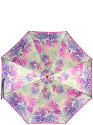Зонт Eleganzza. Цвет: синий, лиловый, светло-зеленый
