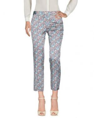 Повседневные брюки MÊME by GIAB'S. Цвет: бирюзовый