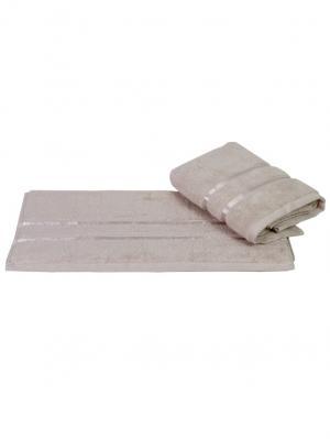 Махровое полотенце 50x90 DOLCE св.коричневое,100% хлопок HOBBY HOME COLLECTION. Цвет: светло-коричневый