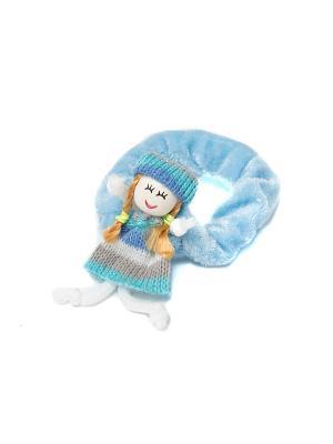 Резинка для волос Mitya Veselkov. Цвет: синий