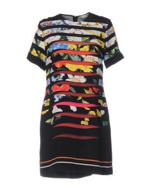 Короткое платье MARY KATRANTZOU. Цвет: черный