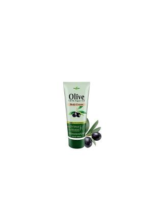 Герболив мини крем для тела с маслом арганы, 50мл Madis S.A.. Цвет: оливковый