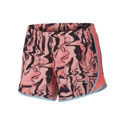 Беговые шорты с принтом для девочек школьного возраста  Dri-FIT Tempo Nike. Цвет: розовый