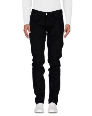 Джинсовые брюки MATTHEW MILLER. Цвет: черный