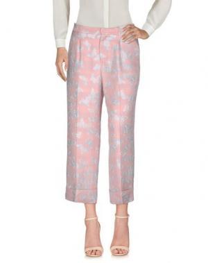 Повседневные брюки GIULIETTE BROWN. Цвет: розовый