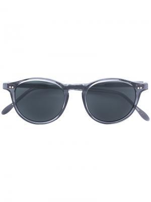 Tinted sunglasses Pantos Paris. Цвет: серый