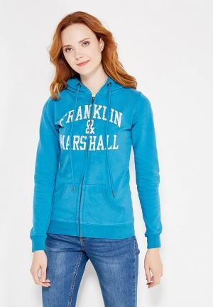 Толстовка Franklin & Marshall. Цвет: синий