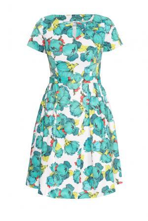 Платье 159375 Y.amelina. Цвет: разноцветный