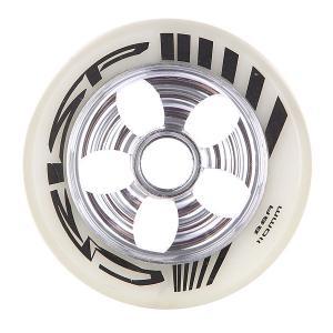 Колесо для самоката  Contour Cut Wheel 110mm 88a Silver/White-pu Crisp. Цвет: белый,серый