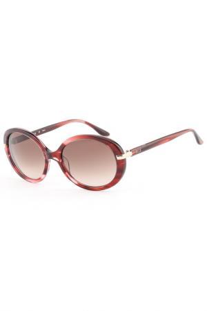 Очки солнцезащитные ELLE. Цвет: розовый