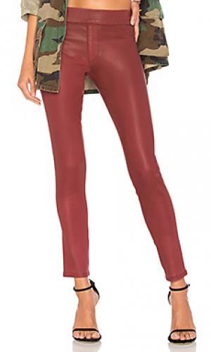 Леггинсы James Jeans. Цвет: красный