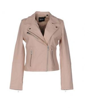 Куртка DOMA. Цвет: розовый