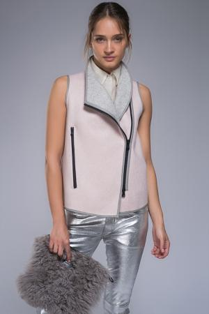 Жилет VESPUCCI BY VSP. Цвет: pink, grey