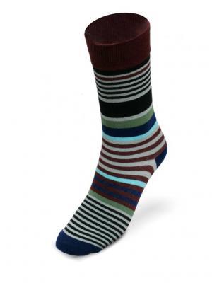 Носки Полоса препятствий ВсеРадости. Цвет: черный, серый, темно-коричневый
