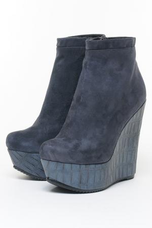 Ботинки Riccorona. Цвет: синий