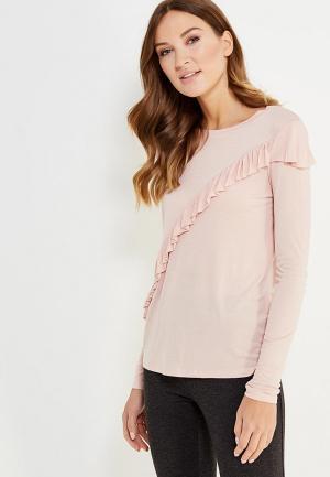 Лонгслив Nice & Chic. Цвет: розовый