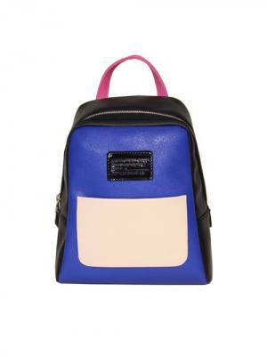 Рюкзак ANTAN. Цвет: черный, розовый, синий