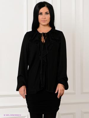 Блузка SISTE'S. Цвет: черный