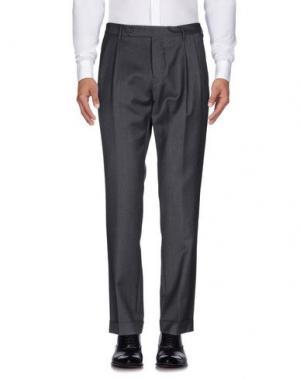 Повседневные брюки MAURO GRIFONI. Цвет: серый
